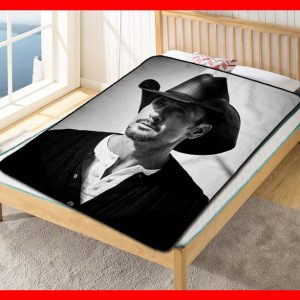 Tim McGraw Fleece Blanket Throw Quilt