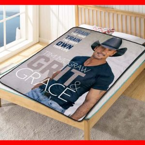 Tim McGraw Grit & Grace Fleece Blanket Throw Quilt