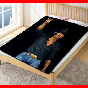 Tim McGraw Live Fleece Blanket Throw Quilt
