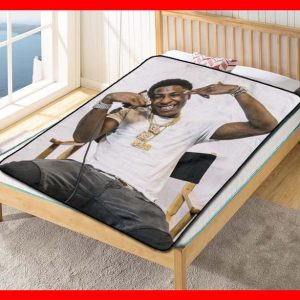 YoungBoy Never Broke Again AI YoungBoy 2 Fleece Blanket Throw Quilt