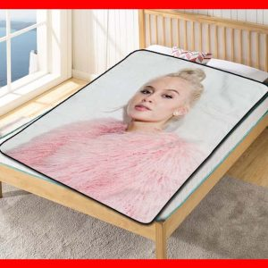 Zara Larsson Never Forget You Quilt Blanket Throw Fleece