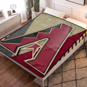 Arizona Diamondbacks MLB Team Fleece Blanket Throw Quilt
