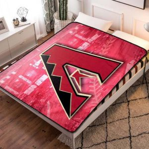Arizona Diamondbacks Baseball Team Fleece Blanket Throw Quilt