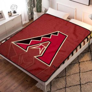 Arizona Diamondbacks Team Fleece Blanket Throw Quilt