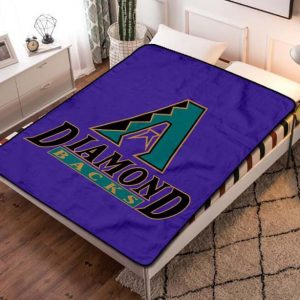 Arizona Diamondbacks MLB Fleece Blanket Throw Quilt
