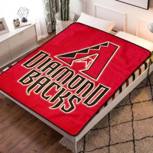 Arizona Diamondbacks Fleece Blanket Throw Bed Set