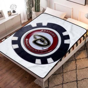 Arizona Diamondbacks Baseball Team Fleece Blanket Throw Bed Set