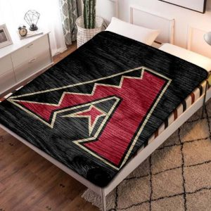 Arizona Diamondbacks Baseball Fleece Blanket Throw Bed Set