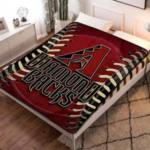 Arizona Diamondbacks MLB Baseball Team Fleece Blanket Throw Bed Set