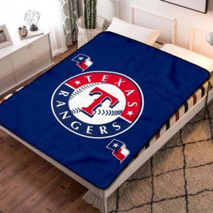 Chillder Texas Rangers Blanket. Texas Rangers Fleece Blanket Throw Bed Set Quilt Bedroom Decoration.