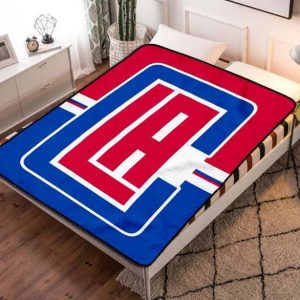Los Angeles Clippers NBA Basketball Team Fleece Blanket Quilt