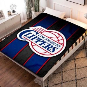 Chillder Los Angeles Clippers Blanket. Los Angeles Clippers Fleece Blanket Throw Bed Set Quilt Bedroom Decoration.