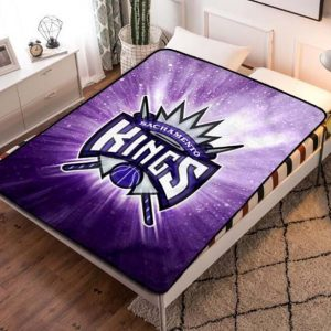 Sacramento Kings Quilt Blanket Throw Fleece