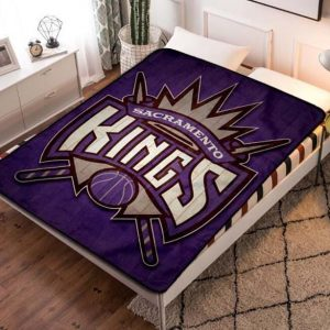 Chillder Sacramento Kings Blanket. Sacramento Kings Fleece Blanket Throw Bed Set Quilt Bedroom Decoration.