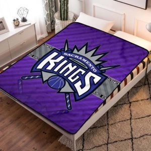 Sacramento Kings Fleece Blanket Quilt