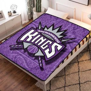 Sacramento Kings NBA Fleece Blanket Quilt
