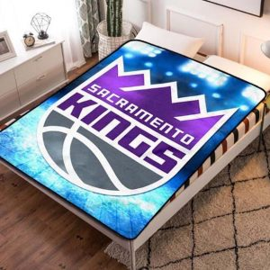 Sacramento Kings Basketball Fleece Blanket Quilt