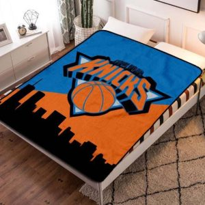 New York Knicks Fleece Blanket Quilt