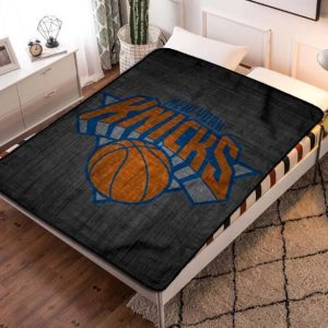New York Knicks NBA Fleece Blanket Quilt