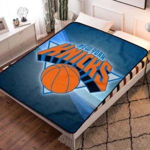 New York Knicks Fleece Blanket Throw Bed Set