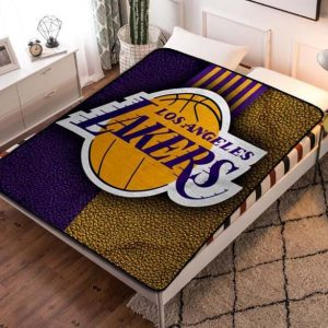Chillder Los Angeles Lakers Blanket. Los Angeles Lakers Fleece Blanket Throw Bed Set Quilt Bedroom Decoration.