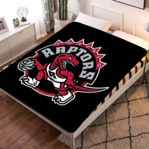 Toronto Raptors Fleece Blanket Throw Bed Set