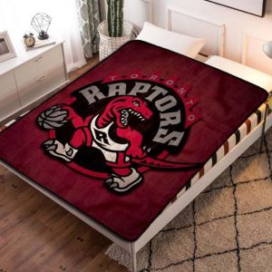 Toronto Raptors NBA Basketball Team Fleece Blanket Quilt