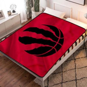 Toronto Raptors Fleece Blanket Throw Quilt