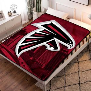 Atlanta Falcons Fleece Blanket Throw Bed Set