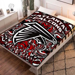 Atlanta Falcons NFL Team Fleece Blanket Throw Bed Set