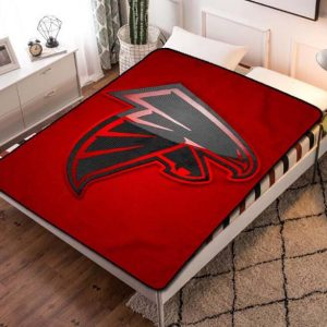 Atlanta Falcons Football Team Fleece Blanket Throw Bed Set