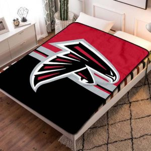 Atlanta Falcons Football Fleece Blanket Throw Bed Set