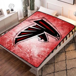 Atlanta Falcons NFL Fleece Blanket Throw Bed Set