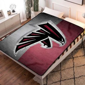 Atlanta Falcons Football Team Quilt Blanket Throw Fleece