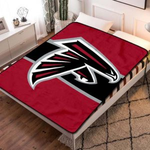 Atlanta Falcons Football Fleece Blanket Throw Quilt