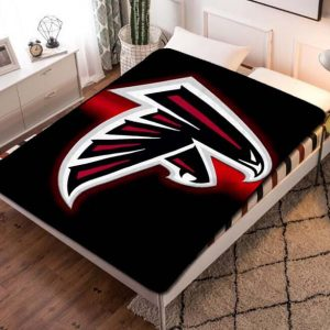 Atlanta Falcons NFL Team Fleece Blanket Throw Quilt
