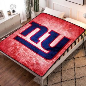 New York Giants NY Team Quilt Blanket Fleece Bed Set