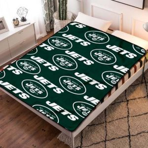 New York Jets Fleece Blanket Quilt