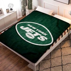 New York Jets NFL Team Fleece Blanket Quilt