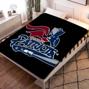 Chillder New England Patriots Blanket. New England Patriots Fleece Blanket Throw Bed Set Quilt Bedroom Decoration.