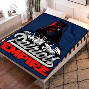 New England Patriots Fleece Blanket Quilt