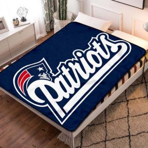 New England Patriots Fleece Blanket Throw Quilt