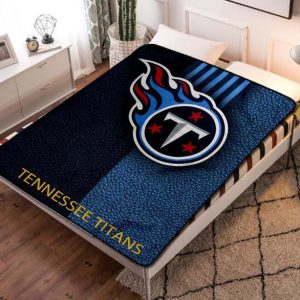 Tennessee Titans Fleece Blanket Throw Bed Set
