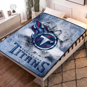 Tennessee Titans NFL Team Fleece Blanket Throw Bed Set