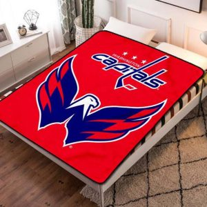 Washington Capitals Fleece Blanket Quilt