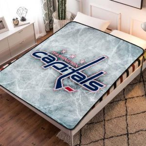 Chillder Washington Capitals Blanket. Washington Capitals Fleece Blanket Throw Bed Set Quilt Bedroom Decoration.