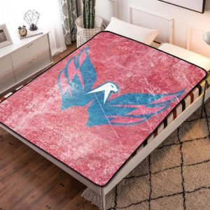 Washington Capitals Fleece Blanket Throw Quilt