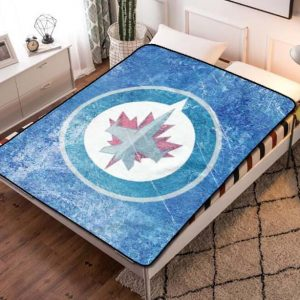 Winnipeg Jets NHL Hockey Team Fleece Blanket Quilt