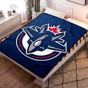 Winnipeg Jets NHL Fleece Blanket Quilt
