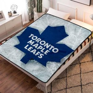 Toronto Maple Leafs Fleece Blanket Throw Quilt